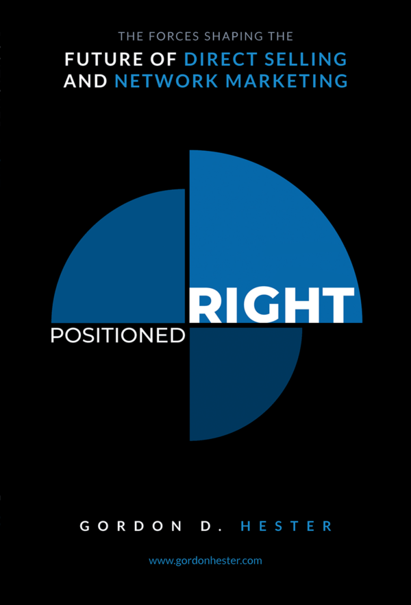 Gordon Hester's new book, Positioned Right